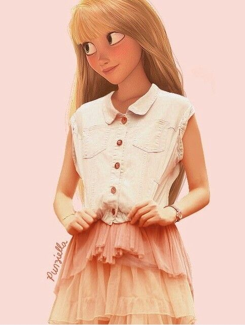 #1-Rapunzel/Tangled