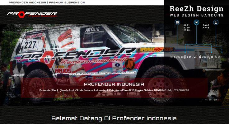 Profender Indonesia - Portfolio Web Design Bandung