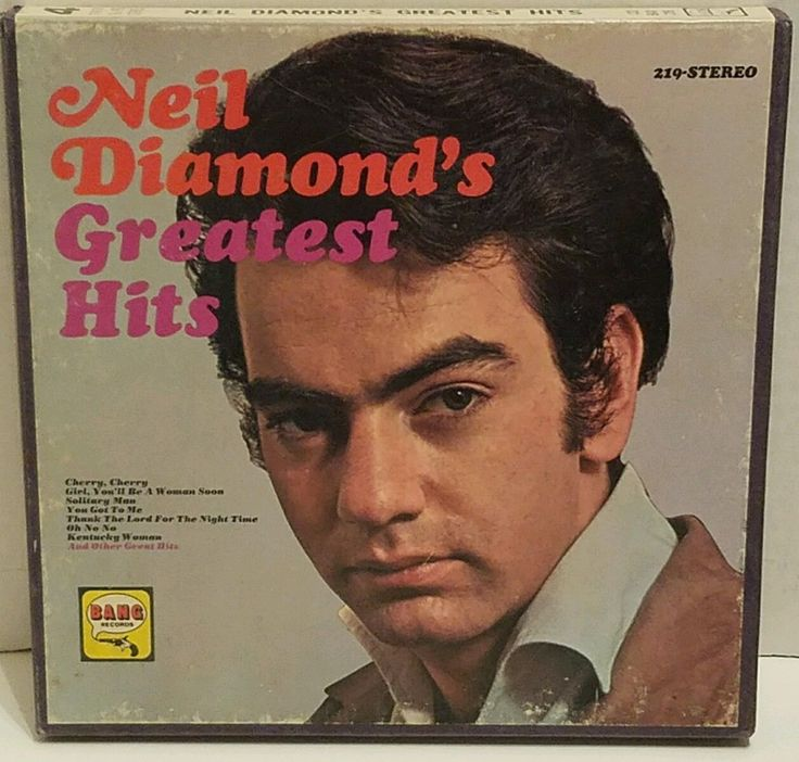 nice Neil Diamond's Greatest Hits Reel to Reel Tape BANG HLPS-219 Stereo VG + BA 219   Check more at http://harmonisproduction.com/neil-diamonds-greatest-hits-reel-to-reel-tape-bang-hlps-219-stereo-vg-ba-219/