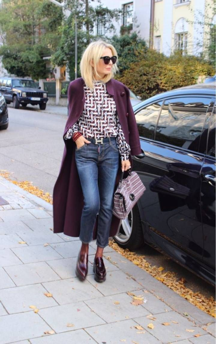 Styling guide for women over 50 from the blogger Bibi Horst   – Herbst