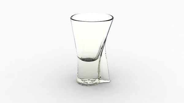 LIQUEUR GLASS FOR BECHEROVKA by Martin Žampach, via Behance
