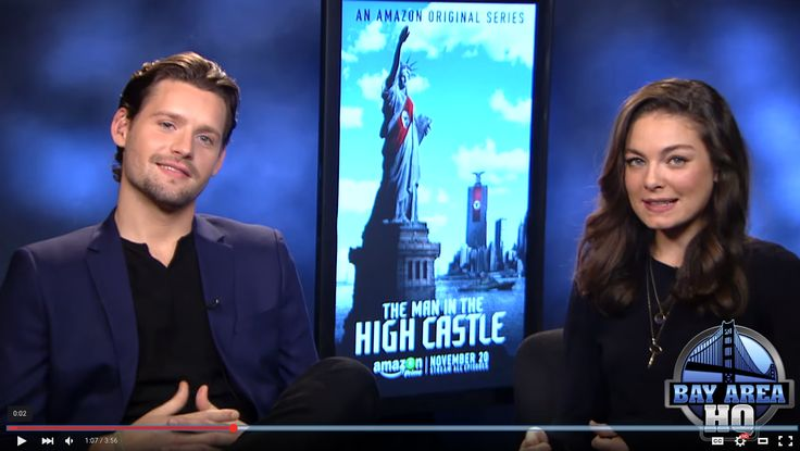 "Alexa Davalos & Luke Kleintank of ""The Man in The High Castle"" talk Geocaching"