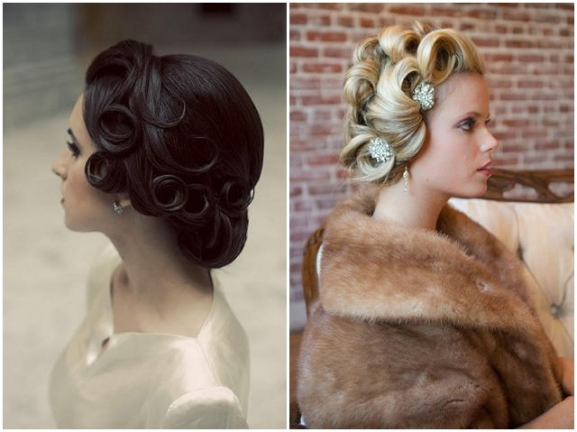 Vintage Bridal Hairstyles With A Modern Twist Want That Wedding Uk Inspiration