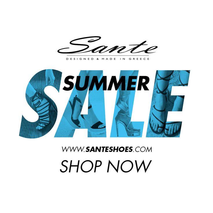 SANTE Summer #SALE SHOP NOW: www.santeshoes.com