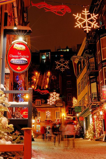 Christmas in Quebec, Canada!!!!