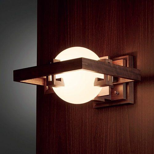 Frank Lloyd Wright(フランクロイドライト)「ROBIE 1(ロビー1)」ウォルナット 【要電気工事】[B2691]