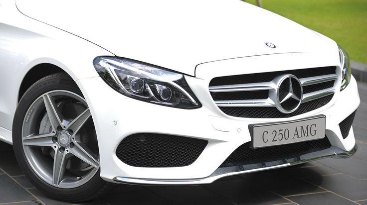 Mercedes C250 AMG phin bn mu trng hin i t xe ngay phin