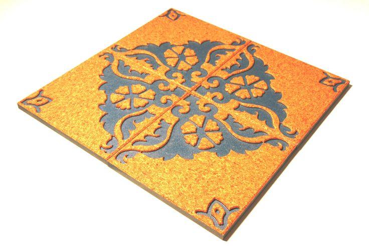 Cortilejo-O azulejo de cortica uma criação de Rui Matias.