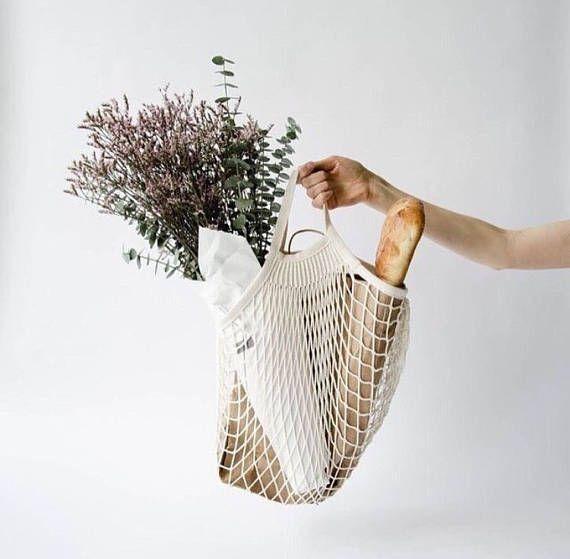 Eco netty mesh bag