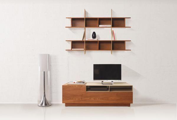 MIX | Compositions - Bookshelves | alexopoulos & co | #innovation #tv #furniture #design #alexopoulos_co #madeingreece