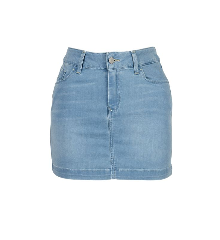 Every women needs a basic jeans skirt - just like this one from #CalvinKlein. #DesignerOutletParndorf