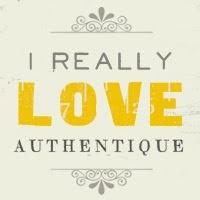 #Authentique - Badge