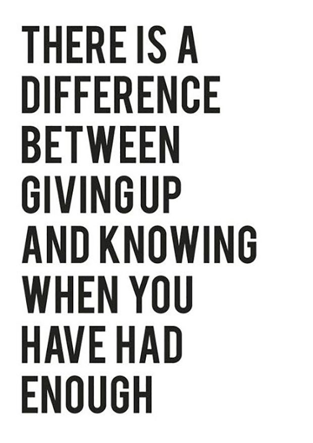 """It's a fine line, but make sure you know when you've crossed it. 