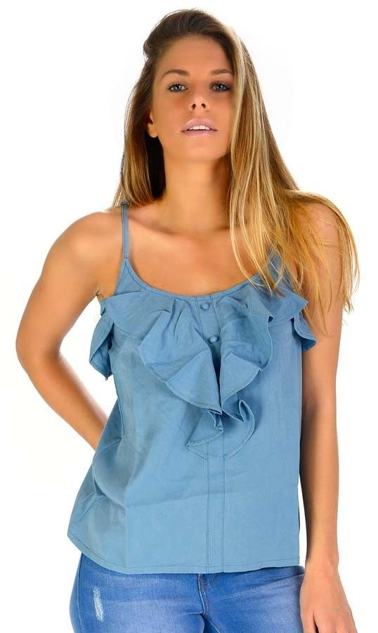 Top Billabong FLAVIA Vivid Blue
