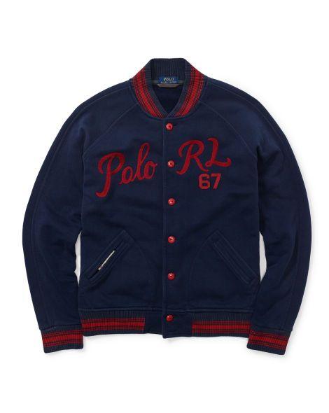 Fleece Baseball Jacket - Polo Ralph Lauren Sweatshirts - RalphLauren.com