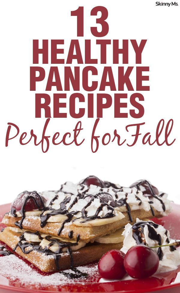 Nothing like waking up on a weekend morning, feeling the chill of fall, and making breakfast with your family. These 13 Healthy Pancake Recipes for Fall will be circulating my breakfast menu all season.