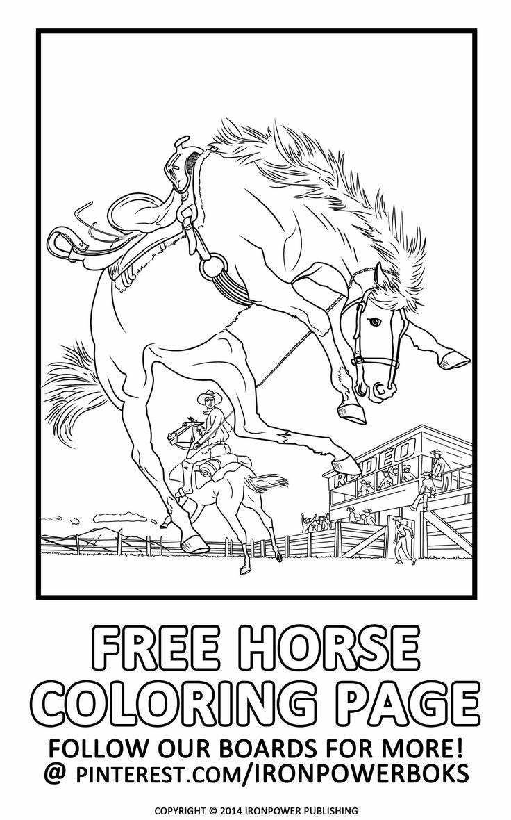 western coloring pages for kids - photo#27