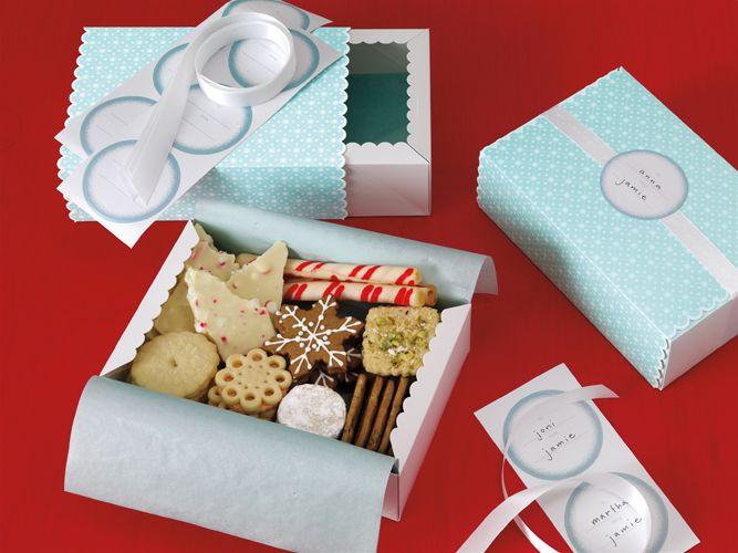 Martha Stewart Crafts - Christmas - Treat Boxes - Winter ...
