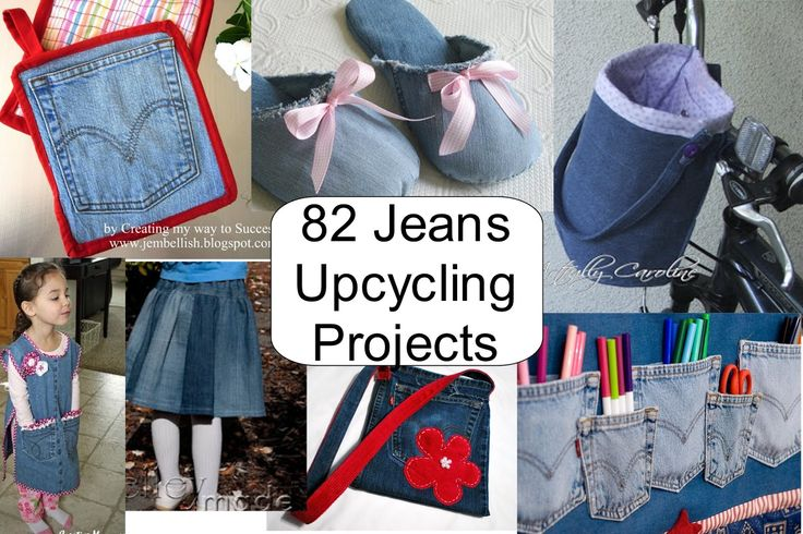Best Ideas for Upcycling Jeans