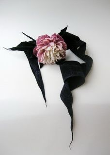 Мокрое валяние цветов из шерсти от автора Диана Нагорная
