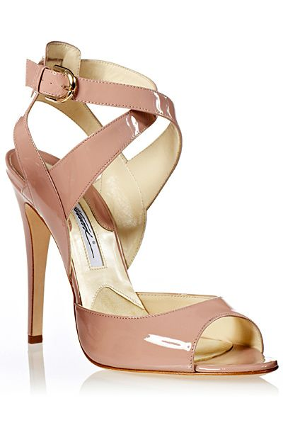 Brian Atwood - 2013 Spring-Summer - the perfect strappy nude