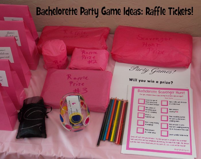 This Month Im Sharing Fun Bachelorette Party Game Ideas With You Todays Installment Shows How To Host An Easy DIY Raffle From Tickets Prizes