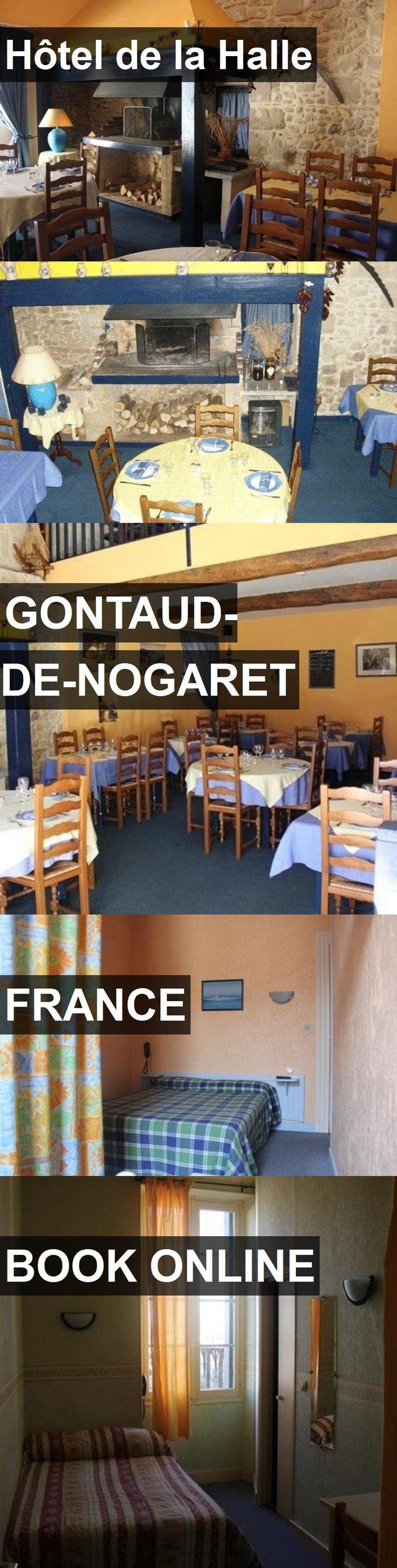 Hotel Hôtel de la Halle in Gontaud-de-Nogaret, France. For more information, photos, reviews and best prices please follow the link. #France #Gontaud-de-Nogaret #HôteldelaHalle #hotel #travel #vacation