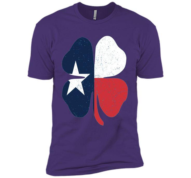 St. Patrick's Day Irish T-Shirt - Texas Flag Tee