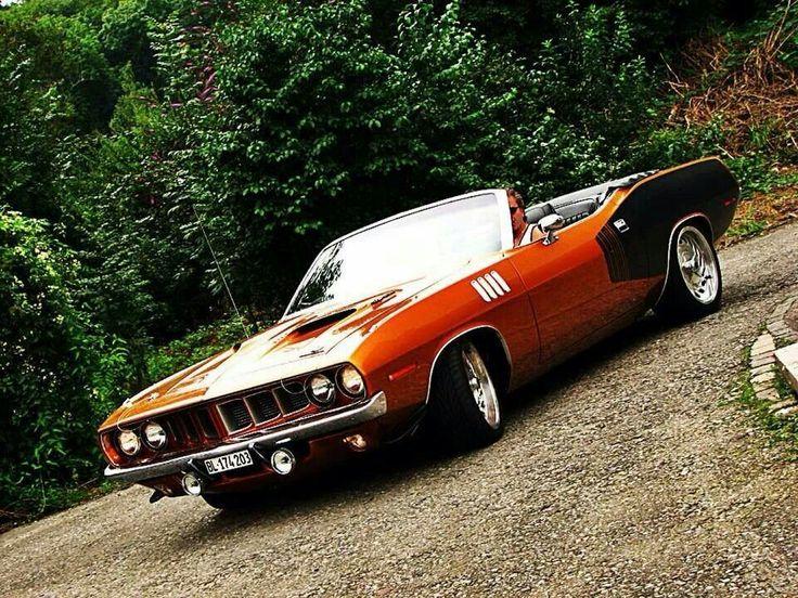 '71 Plymouth hemi cuda Classic Muscle; Modern Luxury