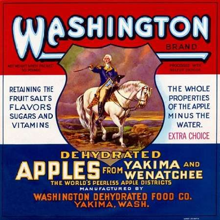 Washington Brand Dehydrated Apples