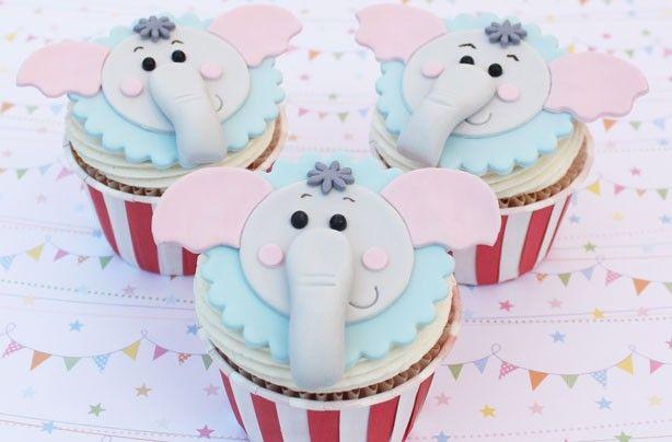 Elephant cupcakes - goodtoknow