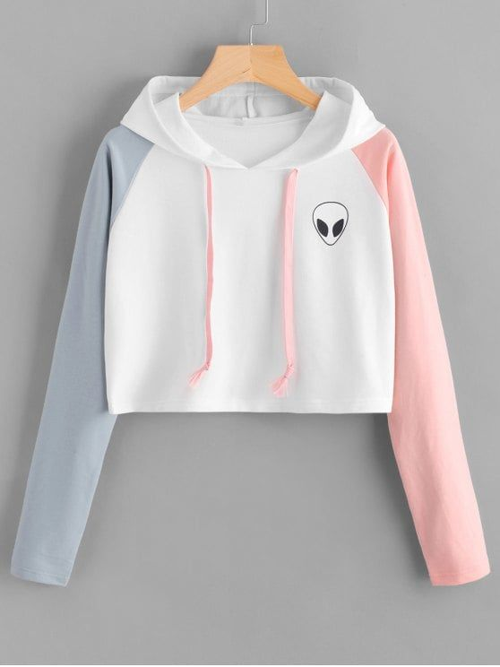 Up to 68% OFF!   Raglan Sleeve Skull Patches Cropped Hoodie. #Zaful #fashion #style #tops #outfits #blouses #sweatshirts #hoodies #hoodiesoutfit #sweatshirtsoutfit #cardigan #sweater#cutesweatshirts #floralhoodie #croppedhoodies #oversizedsweatshirt #winteroutfits #winterfashion #fallfashion #falloutfits #halloweencostumes #halloween #halloweenoutfits #christmas #thanksgiving #gift #christmashoodies #blackfriday #cybermonday @zaful Extra 10% OFF Code:ZF2017
