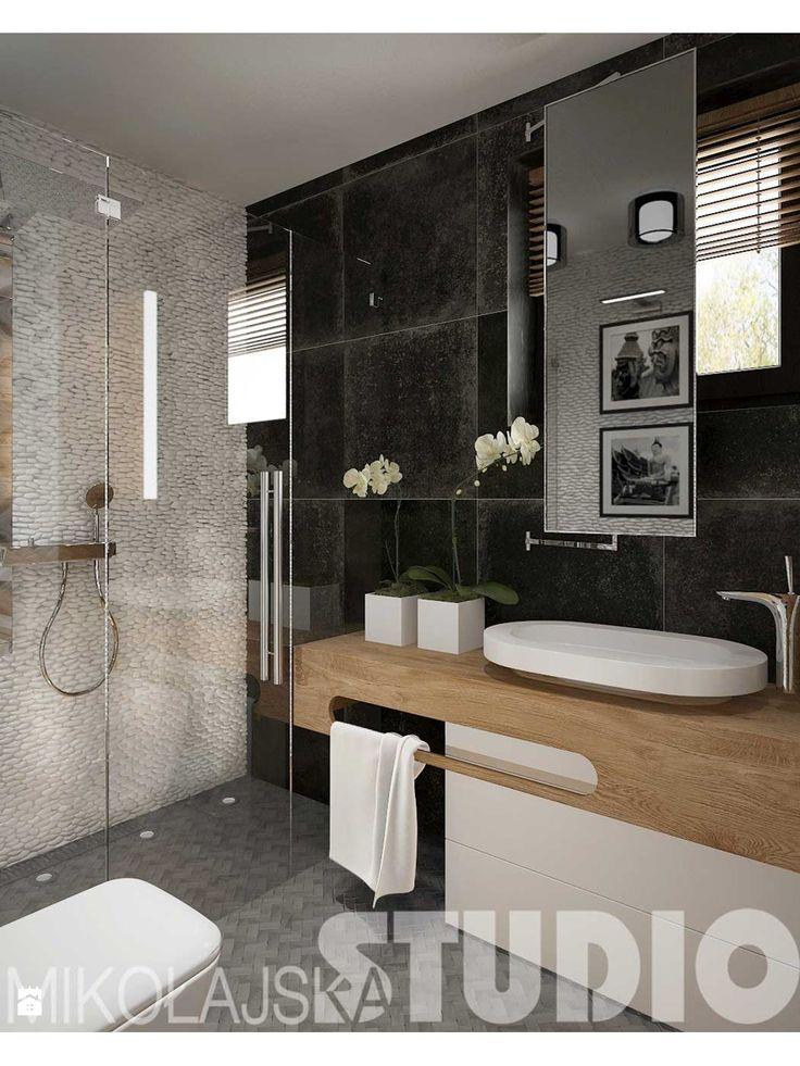Zdjęcie: Łazienka w białym naturalnym kamieniu