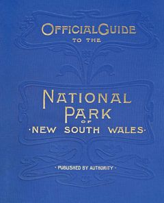 Balancing the objectives of leisure and conservation, the 1902 Trustees of the National Park published an Official Guide to the National Park. The 2011 edition of this publication is a facsimile reprint of this historical document and includes all the photographs and maps of the original.