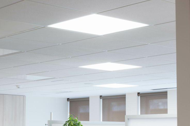 Proyecto de iluminacion led oficinas en bilbao con - Iluminacion bilbao ...