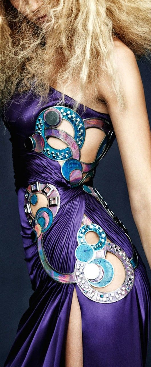 Versace purple and blue