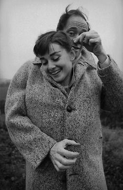 Audrey Hepburn and Mel Ferrer 1956  Photo: Michael Ochs