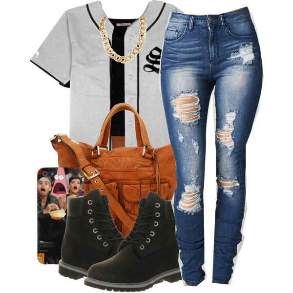 A fashion look from September 2014 featuring Stussy tops, Pieces t-shirts and Timberland ankle booties. Browse and shop related looks.