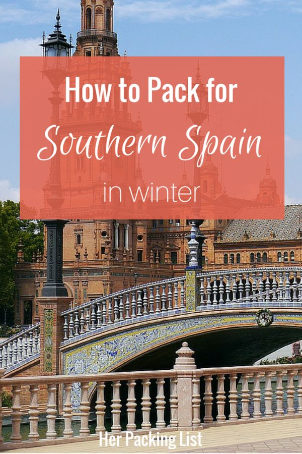 Traveling to Spain in the winter can mean less crowds, but it might be colder than you think. Here's Ali's packing list for southern Spain in winter.