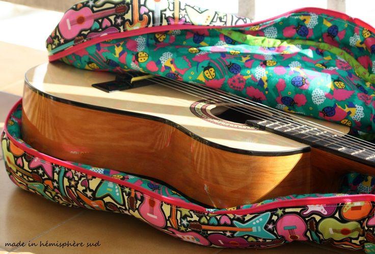 Les 25 meilleures id es de la cat gorie housse guitare sur for Housse de guitare