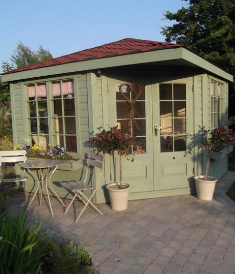 28 best images about shed envy on pinterest farrow ball - Farrow ball exterior paint concept ...
