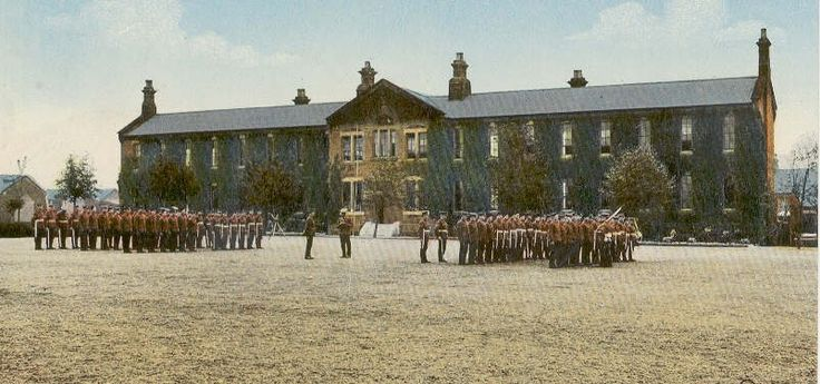 Parade Ground Hightown Barracks.