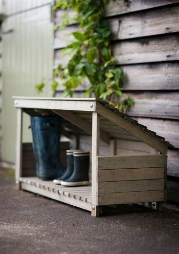 Idea for muddy shoes and parcel delivery ?