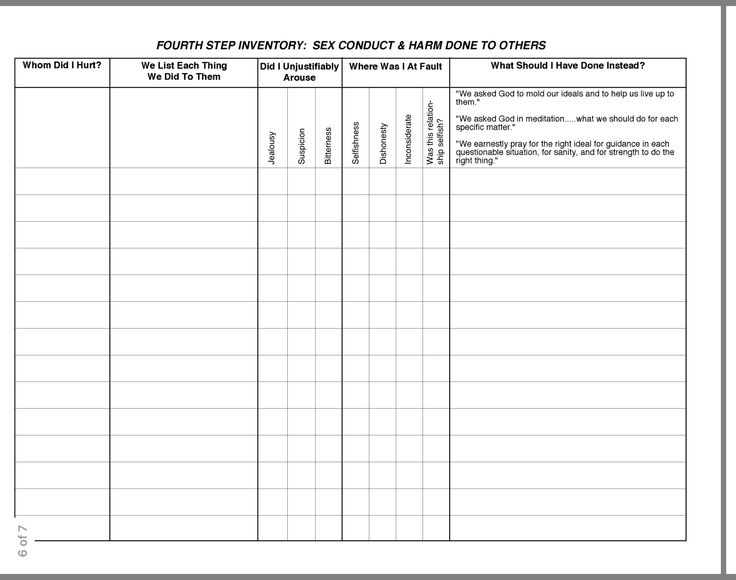 Printables Character Defects Worksheet Mywcct Thousands