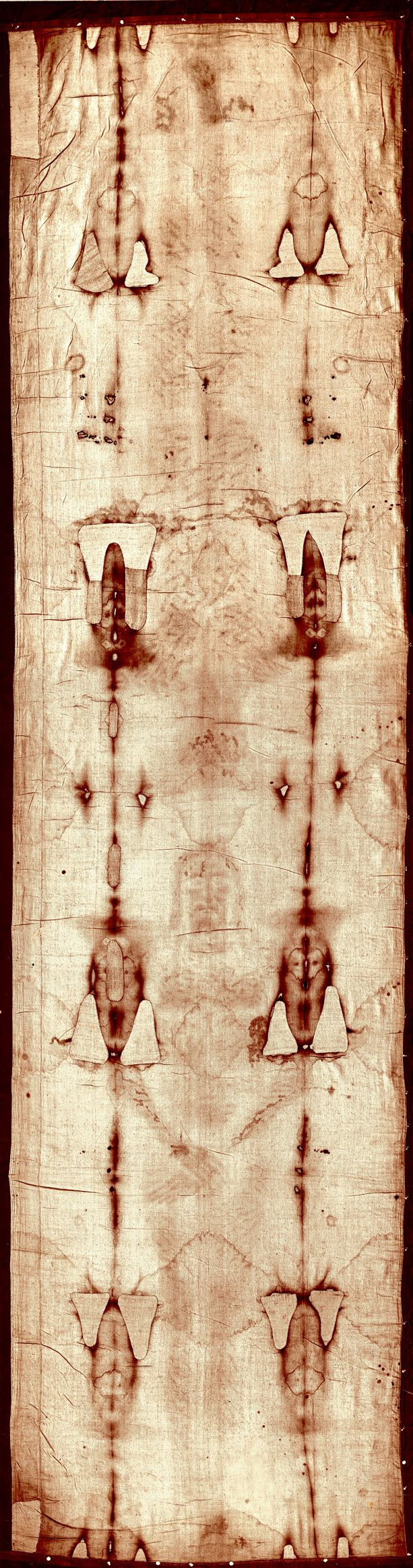 Holy Shroud of Turin, the famous relic which is believed to have the image of Jesus Christ.