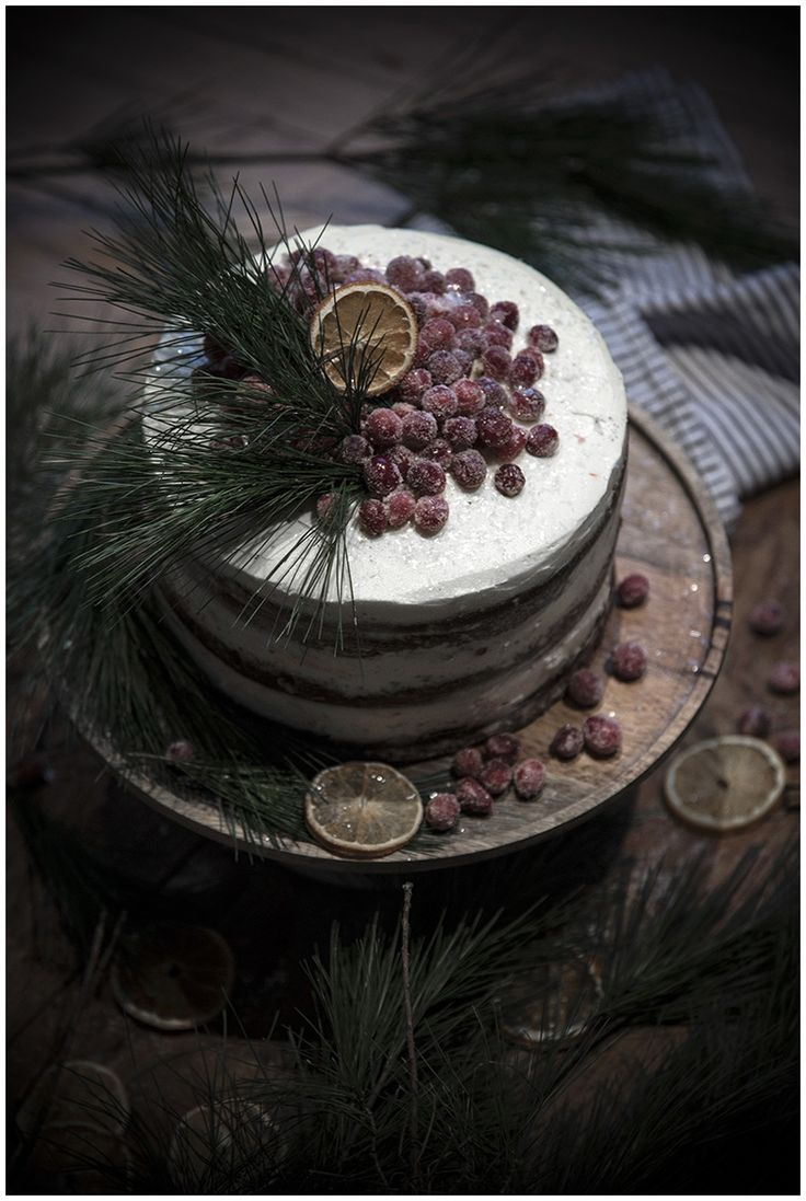 elorablue:  Spiced Chocolate Rum Cake with Cranberries:  By Mademoiselle Poirot