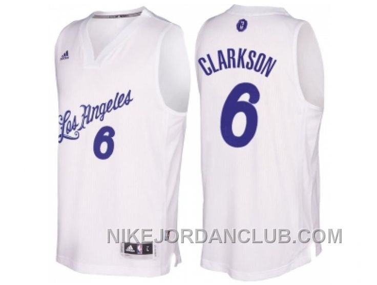 6430638f1 ... ireland lakers 6 jordan clarkson christmas day white jersey only 89.00  free shipping d0600 e8911