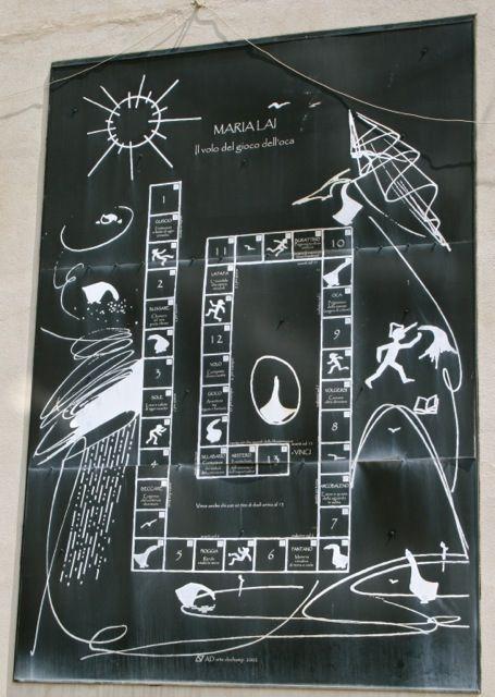 Maria Lai, Il gioco del volo dell'oca, Ulassai