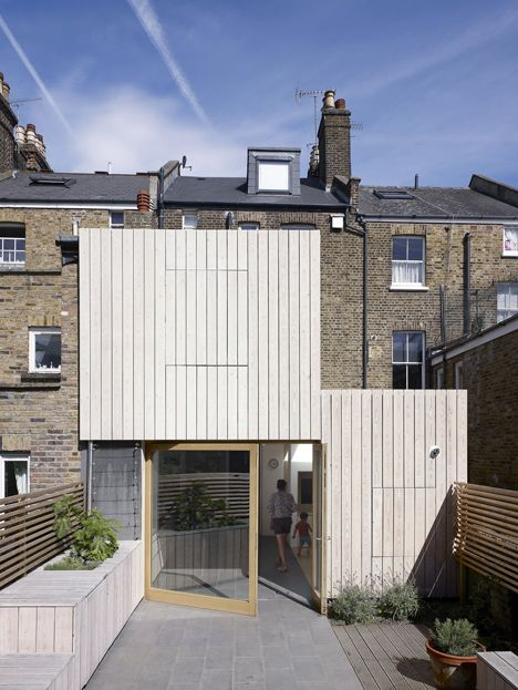 Hayhurst and Co. adds beach house-inspired extension to London residence. deezeen magazine. home architecture ourdoor living design kitchen interior design
