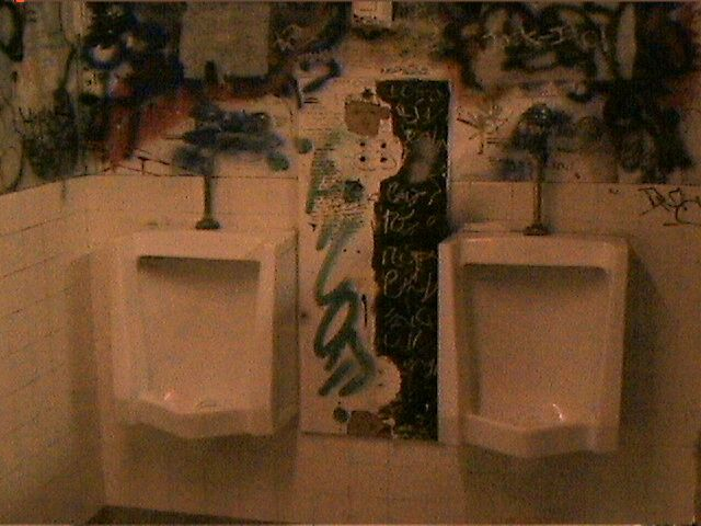 The Urinals of California Institute of the Arts
